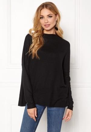 ONLY Kleo L/S Plain Pullover Black XS