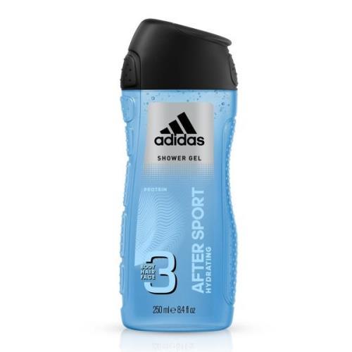 Adidas After Sport 3 Body Hair Face Hydrating Body Wash 250ml