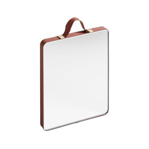 Ruban Rectangular Spegel S, Rust