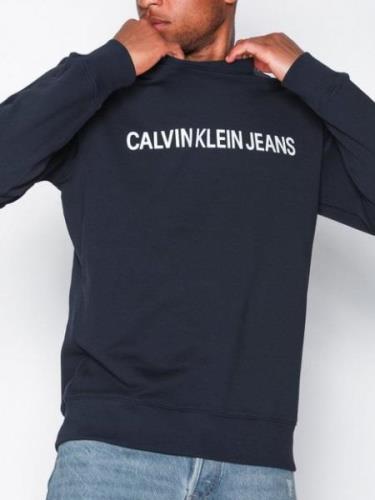 Calvin Klein Jeans Basic Institutional Logo Sweat Tröjor Night Sky