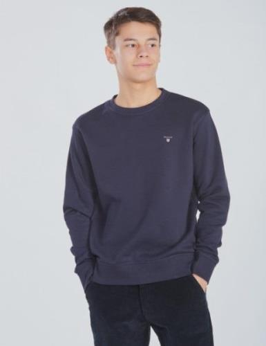 Gant, TB. THE ORIGINAL C-NECK SWEAT, Blå, Tröjor/Cardigans till Kille,...